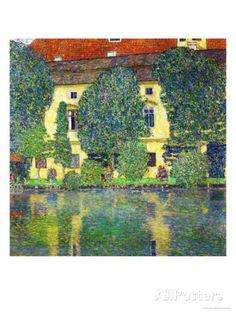 Schloss Kammer Am Attersee III (Wasserschloss), 1910 Stampa giclée di Gustav Klimt su AllPosters.it