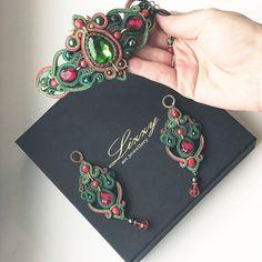 Boho Jewelry, Jewelery, Handmade Jewelry, Soutache Necklace, Tassel Earrings, Painted Shoes, Silk Ribbon, Shibori, Beaded Embroidery