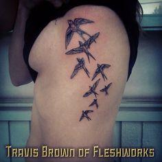 #TravisBrown#FleshworksTattooStudio#Olympia#WA#