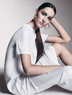 Josephine Le Tutour for Vogue China May 2015 | The Fashionography