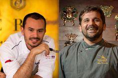 À quatro mãos: Lui Veronese recebe o chef Biba Fernandes na cozinha do Cru Balcão Criativo | Finíssimo - Brasília na Moda