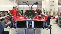 Nissan's new 2015 GT-R LM NISMO LMP1 is captured at Circuit of The Americas by Marshall Pruett on 12/17/2014 during the filming of Nissan's Super Bowl ad. - RoadandTrack.com