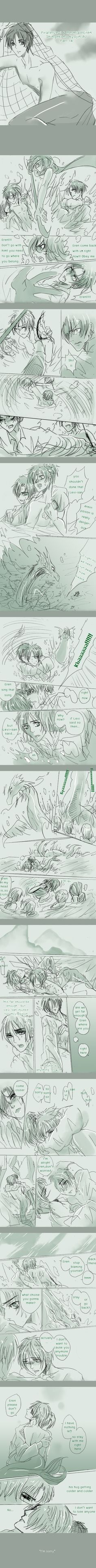SnK'AU : Pirate!Levi x Mermaid!Eren part14 by illuscarymono.deviantart.com on @DeviantArt