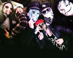Hollywood Undead- Glad to say I actually met them, such amazing genuinely nice guys -Ash
