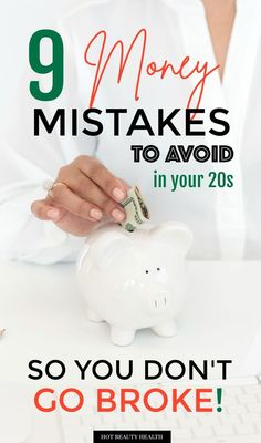 Learn more about common money mistakes that happens in your With these financial tips, you can make changes sooner rather than later to get your personal finances in order- and don't go broke! Financial Tips, Financial Planning, Build Credit, Envelope System, Managing Your Money, Early Retirement, Useful Life Hacks, Money Management, Money Tips