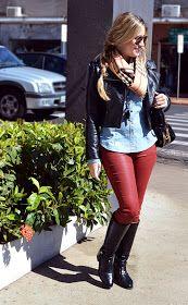 Blog Jé Marzola: Look de Inverno - Camisa Jeans + Jaqueta + Bota