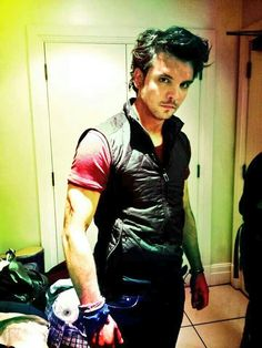 Andrew lee potts being a bady
