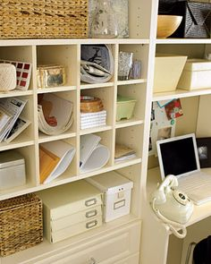 hello shoe cubbies - you can be used for so many things.