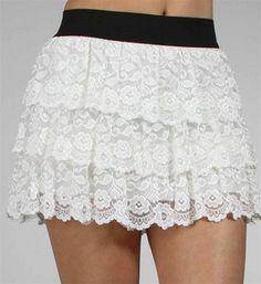 #Windsor                  #Skirt                    #Ivory #Lace #Skirt       Ivory Lace Skirt                                    http://www.seapai.com/product.aspx?PID=1732887