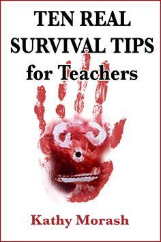 Help for teachers Ebook Cover Design, Survival Tips, Teacher, Professor, Recovery