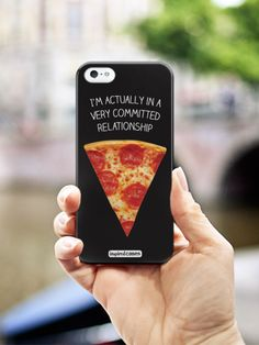 Inspired Cases Very Committed Relationship - Pizza Case #Inspiredcases #pizza #phonecases