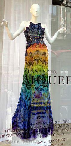 Beautiful Alexander McQueen gown