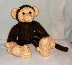 Link for written pattern: http://www.ravelry.com/patterns/library/monkey-34 For the Bear legs as an alternate for legs click here: http://youtu.be/69JMpqUnAd...
