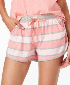 Pajama Separates Pajamas and Robes - Macy's Pajamas For Teens, Summer Pajamas, Cute Pajamas, Pajamas Women, Comfy Pajamas, Satin Pyjama Set, Pajama Set, Womens Fashion Online, Latest Fashion For Women