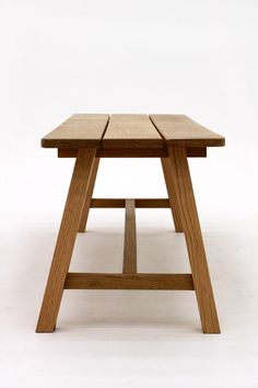 White Oak Bench Seat by Smith & Thomas  - White Oak, Bench Seat, Handmade, Furniture, Melbourne