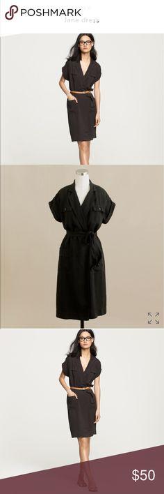 J. Crew Jane Dress awesome brush twill Sz. 4 EUC J. Crew Jane Dress awesome brush twill Sz. 4 EUC #shopmycloset #jcrew J. Crew Dresses
