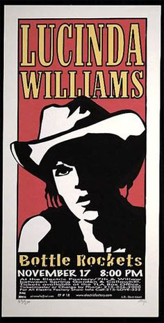 Lucinda Williams   Bottle Rockets     Electric Factory   11/17/1999