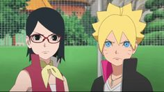 Boruto and Sarada - I kinda think Sarada will end up being the most important person to Boruto (other than Himawari). Given how much Kishimoto loves parallels across time, Sarada will be Boruto's Sasuke/Sakura... or he'll be hers.
