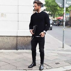 Chelsea Boots Men Outfit Ideas how to wear dress boots black chelsea boots outfit black Chelsea Boots Men Outfit. Here is Chelsea Boots Men Outfit Ideas for you. Chelsea Boots Men Outfit how to wear chelsea boots for any occasion the tren. Mens Boots Fashion, Best Mens Fashion, Mens Fashion Suits, Style Fashion, Ootd Fashion, Fashion Stylist, Fashion Addict, Daily Fashion, Fashion Outfits