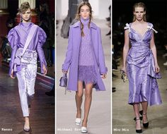 "Sweet Lilac: ""So bright, feminine and uplifting, lilac forms one of the most difficult fall/ winter 2016-2017 color trends, since pulling it off during all those rainy, cloudy and frosty days is somehow impossible, unless you live in such sun-kissed cities as LA. It, however, makes a perfect color even for the colder seasons for special occasions"""