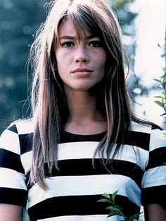 Hairspiration: Françoise Hardy.