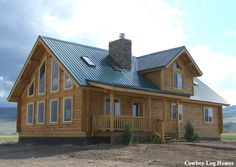 Cowboy Western House Plans | Cowboy Log Homes : Building Log Dreams Since 1997