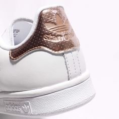 Damen Adidas Originals Stan Smith W Sneaker Gold/Bronze