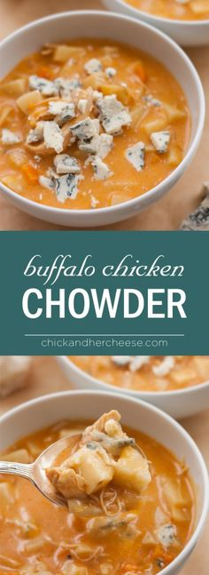 Buffalo Chicken Chowder More