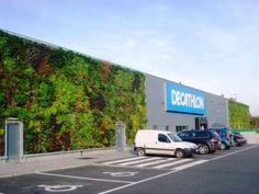 Décathlon - mur végétal #écologie