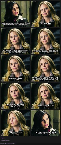 OUAT #sorrynotsorry  SwanQueen