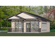 24x32 House 1-Bedroom 1-Bath 768 sq ft PDF Floor Plan | Etsy