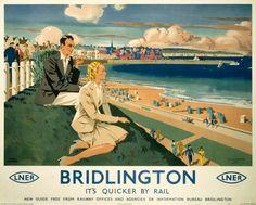 'Bridlington', LNER poster, 1940.