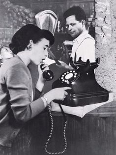 The Phone Call, 1951 (Grete Stern)