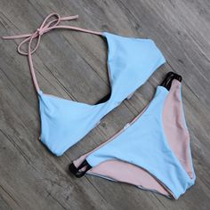 Bikini Set 2016 Summer Swimwear Biquini Women Sexy Beach Swimsuit Bathing Suit Push up Brazilian Bikini Maillot De Bain - AzZKey Sexy Bikini, Brasilianischer Bikini, Bikini 2017, Bralette Bikini, Bikini Girls, Cute Bikinis, Cute Swimsuits, Women Swimsuits, Swimsuits 2017