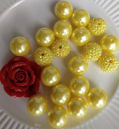 Check out this item in my Etsy shop https://www.etsy.com/listing/531902803/belle-inspired-necklace-diy-chunky-bead