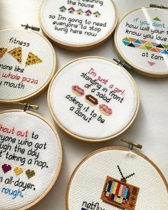"257 Likes, 4 Comments - Embroidery Instaguild (@embroidery_instaguild) on Instagram: ""You can probably tell from my shop/username ( @freudianstitch ) that I'm a sucker for puns. So…"""