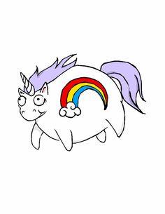 Really fat unicorn