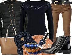 Et voici notre tenue du jour 07 Octobre !  Les vêtements sont ici : http://stylefru.it/s460181 #couleurautomne