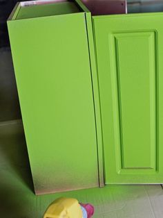 How to Paint Kitchen Cabinets With a Sprayed-On Finish from DIYnetwork.com