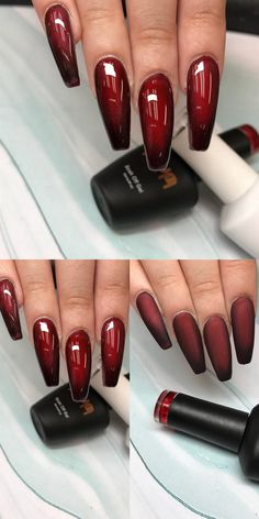 50 Gorgeous Nail Art Trends And Ideas — Style Estate Acrylic Nail Designs, Nail Art Designs, Acrylic Nails, Nails Design, Polygel Nails, Hot Nails, Matte Nails, Manicures, Gorgeous Nails