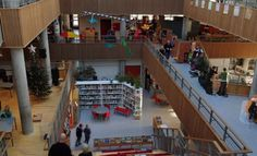 Hellerup School in Denmark seen by many as the poster child for new learning spaces
