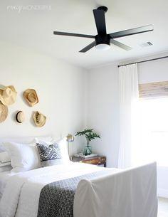 Crazy Wonderful: guest room ceiling fan