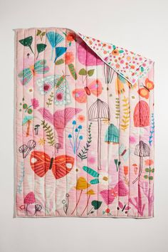Make sure your little one has a bedding set as vibrant as their personality. Shop children's bedding, pillows, and sheet sets at Anthropologie. Kids Bedding Sets, Baby Crib Bedding, Nursery Bedding Sets, Anthropologie Bedding, Toddler Quilt, Childrens Beds, Backyard For Kids, Girl Room, Baby Room