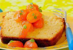 Citrusy Ricotta Pound Cake Serve With Poached Kumquats  Finally! A delicious looking kumquat dessert.