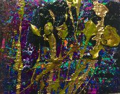 Black Night 3: Niam Jain Autism Artist: Abstract Art