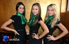 Nouba event staff ready for a special event with financial services giant OTP Bank.