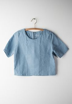 Chambray Crop Top by Another Place | Bohem