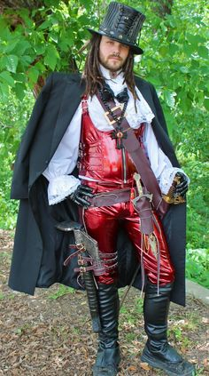 Steampunk clothing 2015 | Vampire Slayer Steampunk Costume, Steampunk Mens Fashions, Steampunk ...