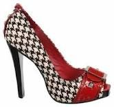 Two obsessions in one, houndstooth and shoes.
