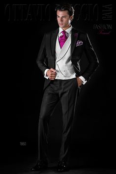 Black peak lapel Italian wedding suit for groom  tuxedo  luxury  menswear   madeinitaly 8286287cc8b